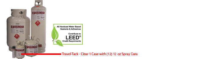 Travel-Tack Spray Cans (Low VOC)